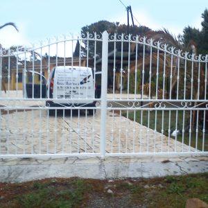 Rénovation portail d'entrée